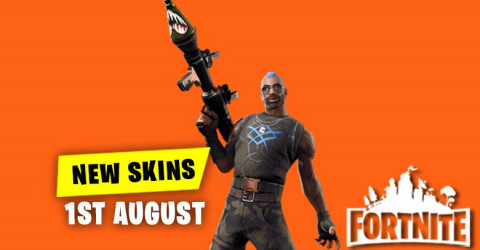 New Skins in Item Shop 1st August