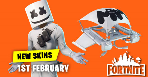 New Skins in Item Shop 1st February