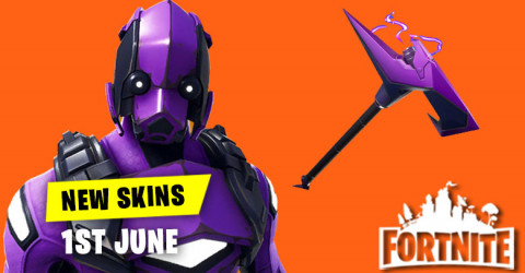 New Skins in Item Shop 1st June