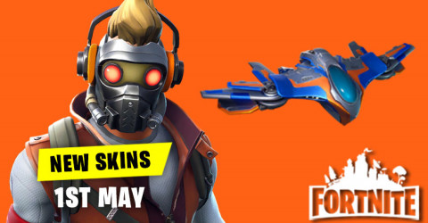 New Skins in Item Shop 1st May
