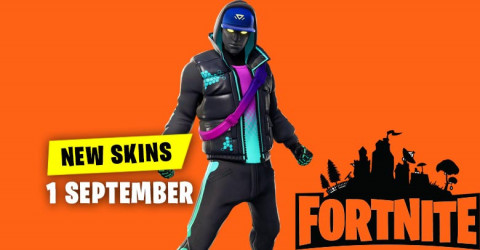 Fortnite Skins Today's Item Shop 1 September 2019