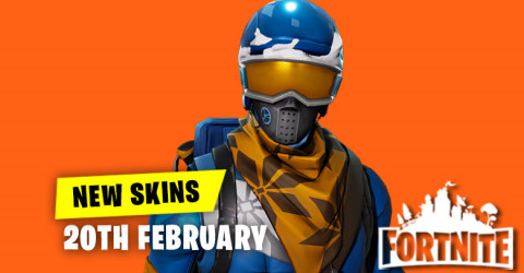New Skins in Item Shop 20th February