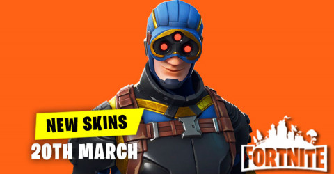 New Skins in Item Shop 20th March