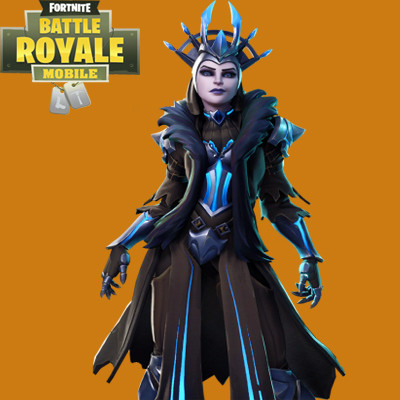 The Ice Queen Skin | Fortnite - zilliongamer