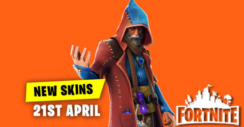 New Skins in Item Shop 21st April