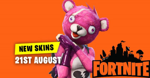 New Skins in Item Shop 21st August
