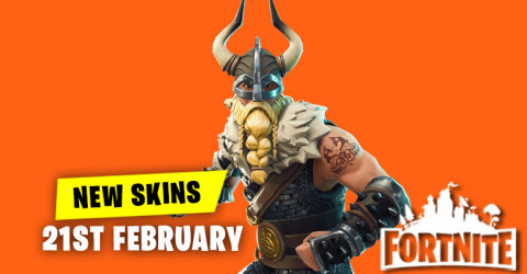 New Skins in Item Shop 21st February