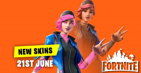 New Skins in Item Shop 21st June