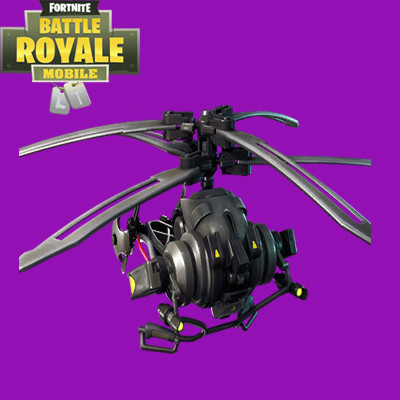 Coaxial Copter | Fortnite - zilliongamer
