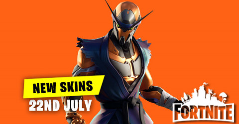 New Skins in Item Shop 22nd July