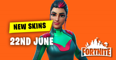 New Skins in Item Shop 22nd June