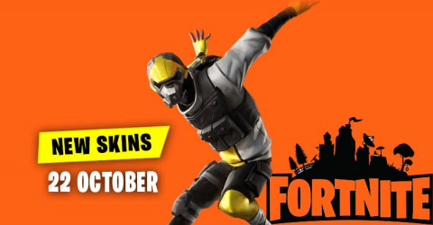 Fortnite Skins Today's Item Shop 22 October 2019