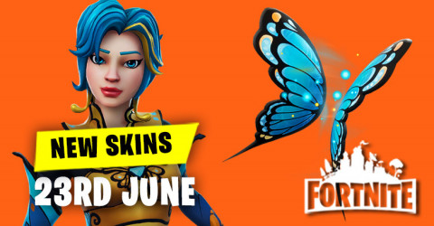 New Skins in Item Shop 23rd June