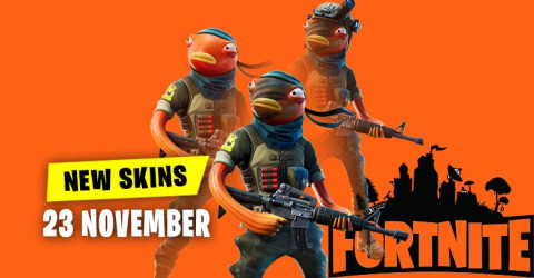 Fortnite Skins Today's Item Shop 23 November 2019