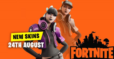 New Skins in Item Shop 24th August