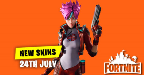 New Skins in Item Shop 24th July