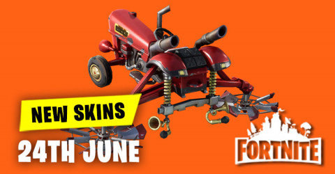 New Skins in Item Shop 24th June