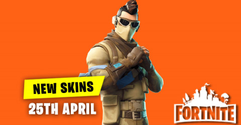 New Skins in Item Shop 25th April