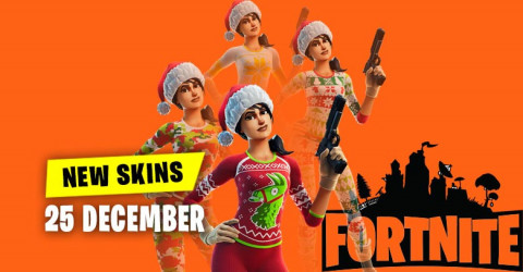 Fortnite Skins Today's Item Shop 25 December 2019