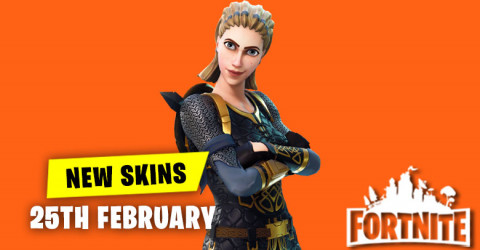 New Skins in Item Shop 24th February