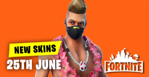 New Skins in Item Shop 25th June