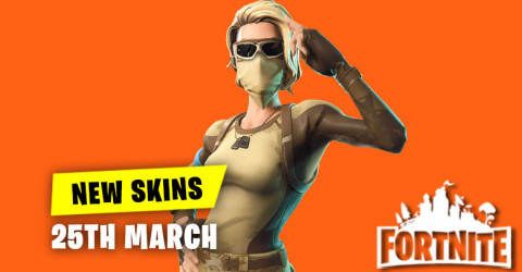 New Skins in Item Shop 25th March