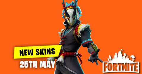 New Skins in Item Shop 25th May