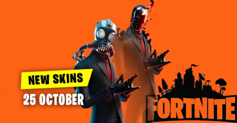 Fortnite Skins Today's Item Shop 25 October 2019