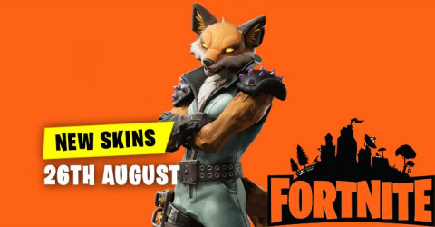 New Skins in Item Shop 26th August