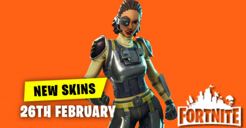 New Skins in Item Shop 26th February