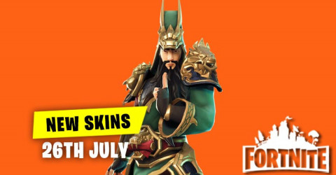 New Skins in Item Shop 26th July