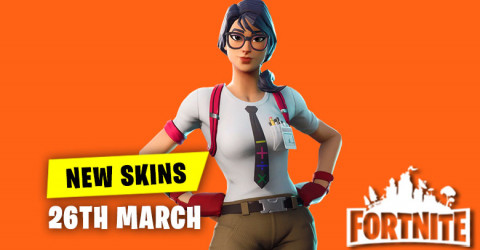New Skins in Item Shop 26th March