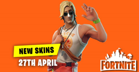 New Skins in Item Shop 27th April