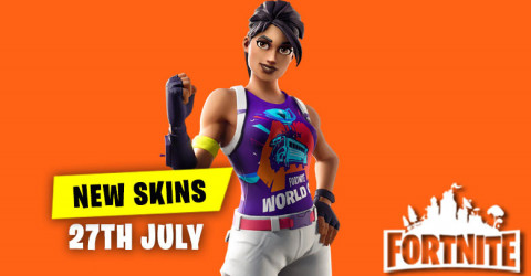 New Skins in Item Shop 27th July