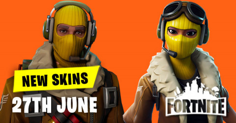 New Skins in Item Shop 27th June