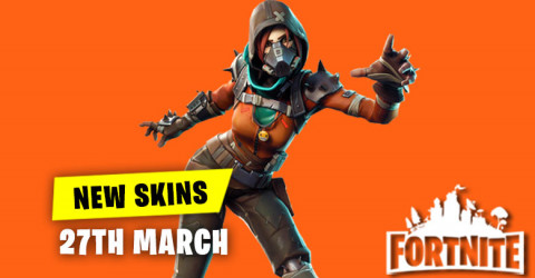 New skins in Item Shop 27th March