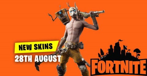 New Skins in Item Shop 28th August