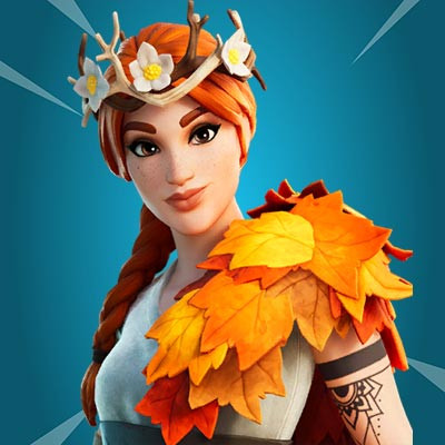 The Autumn Queen | Fortnite - zilliongamer