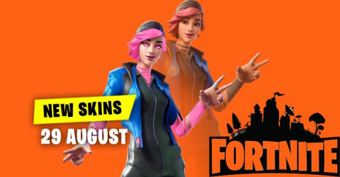 Fortnite Skins Today's Item Shop 29 August 2019
