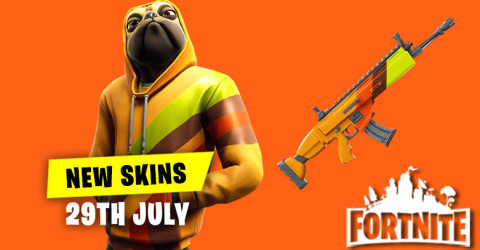 New Skins in Item Shop 29th July