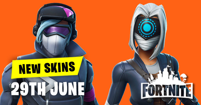 New Skins in Item Shop 29th June