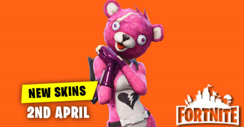 New Skins in Item Shop 2nd April