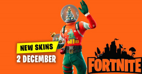 Fortnite Skins Today's Item Shop 2 December 2019