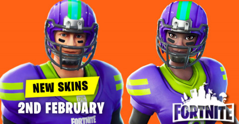 New Skins in Item Shop 2nd February