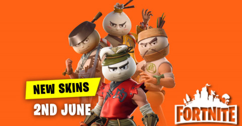 New Skins in Item Shop 2nd June