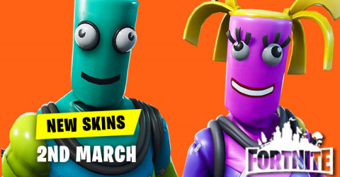 New Skins in Item Shop 2nd March