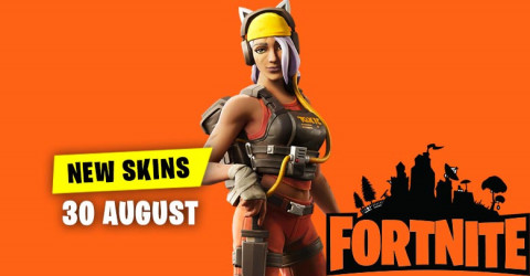 Fortnite Skins Today's Item Shop 30 August 2019
