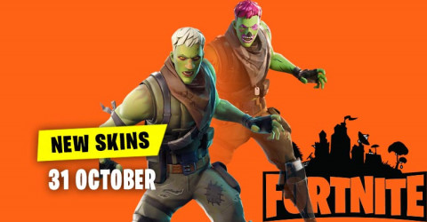 Fortnite Skins Today's Item Shop 31 October 2019