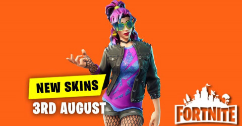 New Skins in Item Shop 3rd August