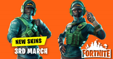 New Skins in Item Shop 3rd March